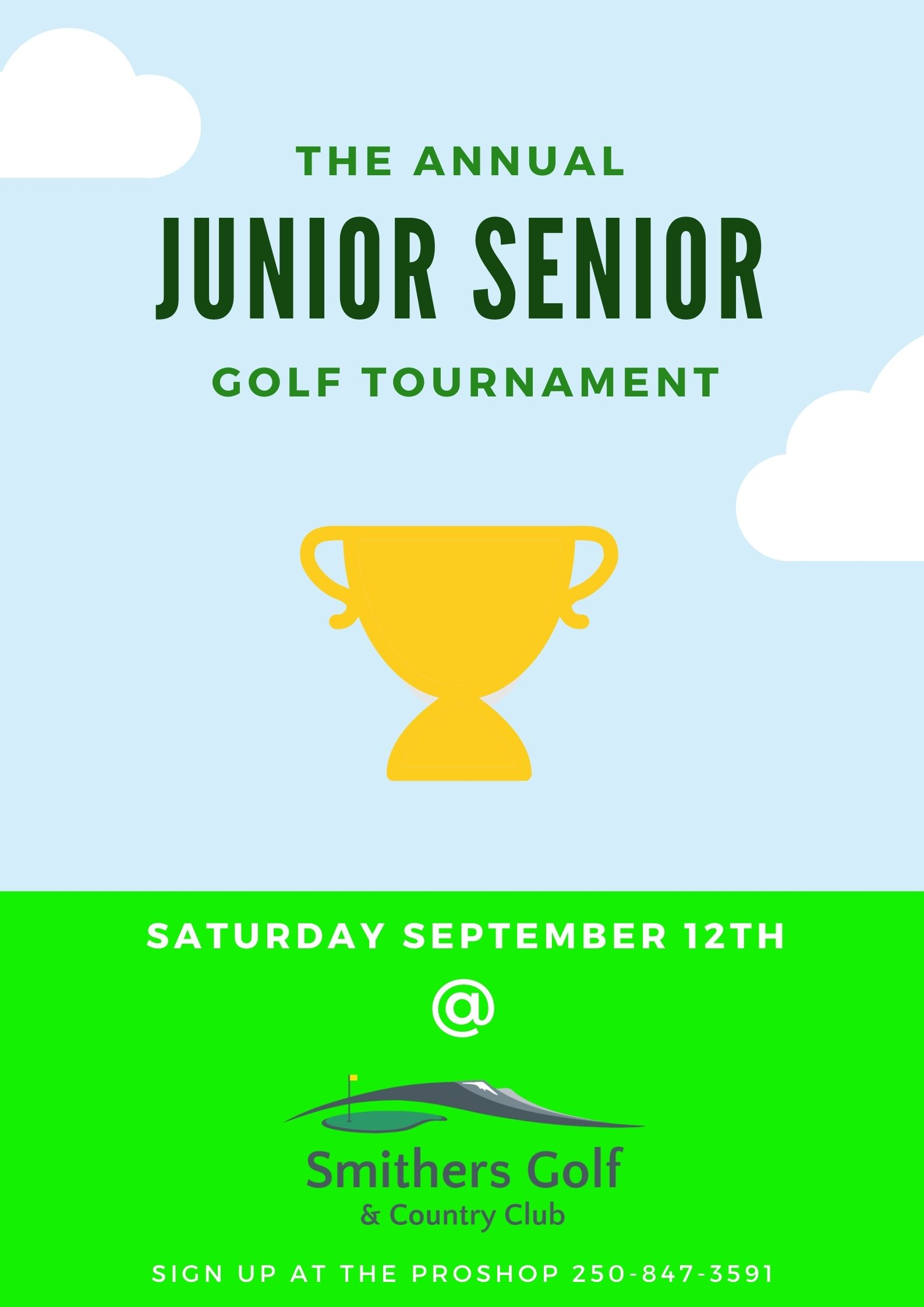 The Annual Junior Senior Tournament