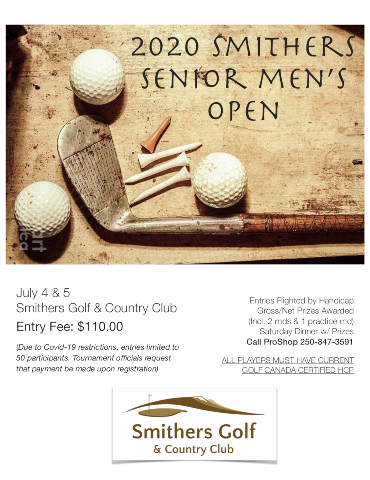Senior Men's Open